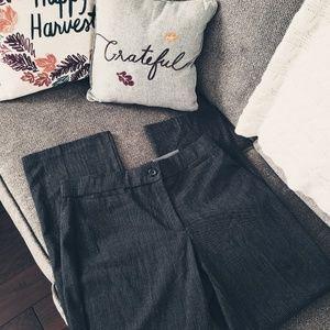 JM Collection black & white microcheck dress pants